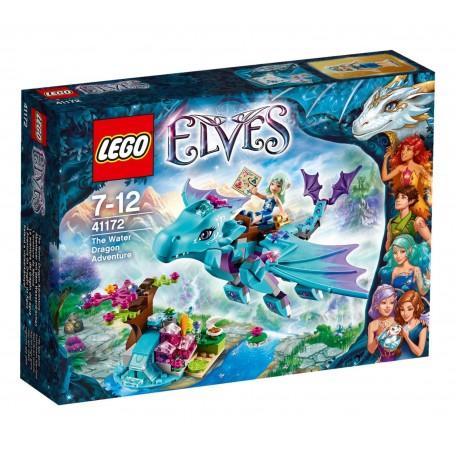 LA AVENTURA DEL DRAGÓN DEL AGUA 41172  LEGO ELVES