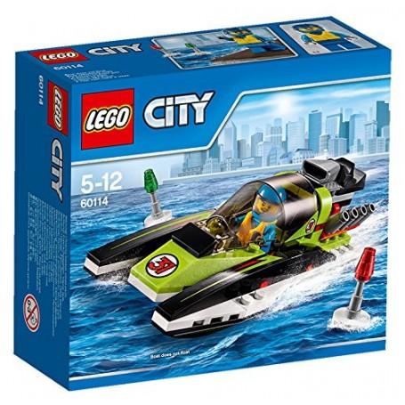 LANCHA RAPIDA 60114  LEGO CITY