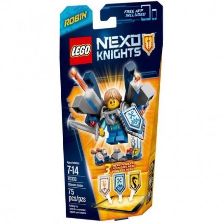 ROBIN ULTIMATE LEGO NEXO KNIGHTS 70333