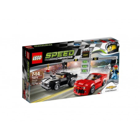 CHEVROLET CAMARO DRAG RACE 75874  LEGO SPEED CHAMPIONS