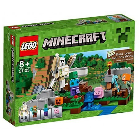 EL GÓLEM DE HIERRO 21123  LEGO MINECRAFT