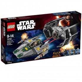 TIE ADVANCED DE VADER VS. A-WING STARFIGHTER 75150 LEGO STAR WARS