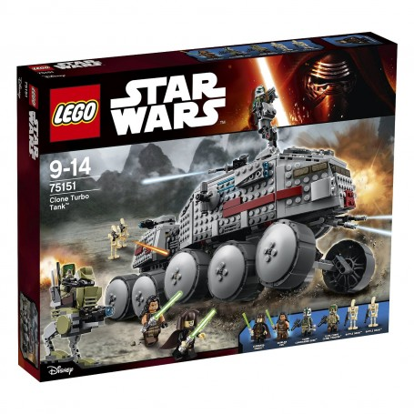 CLONE TURBO TANK 75151 LEGO STAR WARS