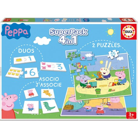 EDUCA SUPERPACK PEPPA PIG