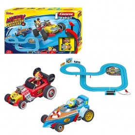 CIRCUITO MICKEY AND THE ROADSTER RACERS CARRERA FIRST