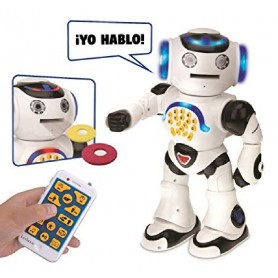 LEXIBOOK - ROBOT DE ENTRETENIMIENTO POWERMAN