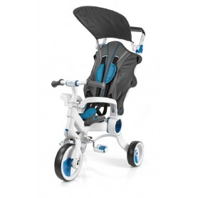 TRICICLO GALILEO 4EN1 COLOR BLANCO + AZUL