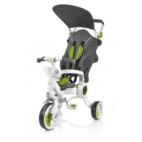 TRICICLO GALILEO 4EN1 COLOR BLANCO + VERDE