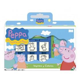 CONJUNTO DE SELLOS PEPPA PIG