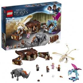 HARRY POTTER - MALETA DE CRIATURAS MÁGICAS DE NEWT LEGO 75952