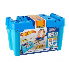 HOT WHEELS - TRACK BUILDER - CAJA MULTILOOPINGS