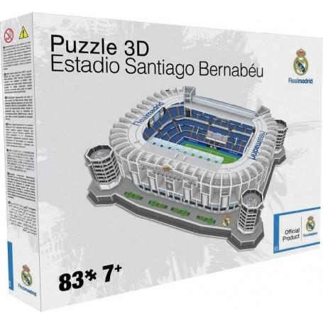 PUZZLE 3D SANTIAGO BERNABEU 83 PZAS