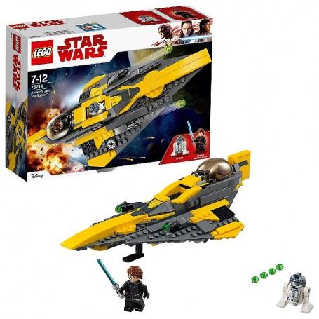 LEGO STAR WARS - CAZA ESTELAR JEDI DE ANAKIN 75214