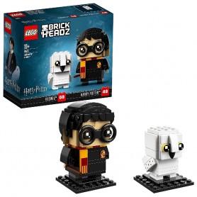 LEGO BRICKHEADZ - HARRY POTTER Y HEDWIG 41615
