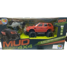 COCHE RC  BIG WHEELS MUD OFF-ROAD 4X4