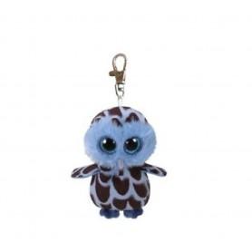 CLIP YAGO- BUHO AZUL OWL 8,5CM - TY BEANIE BOOS