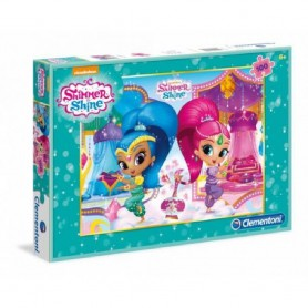 PUZZLE 100 PZ SHIMMER AND SHINE