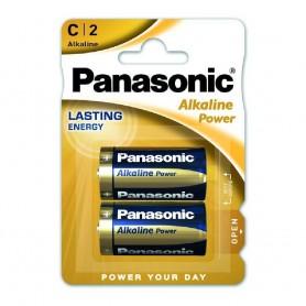 BLISTER 2 PILAS PANASONIC LR14 / C ALCALINA