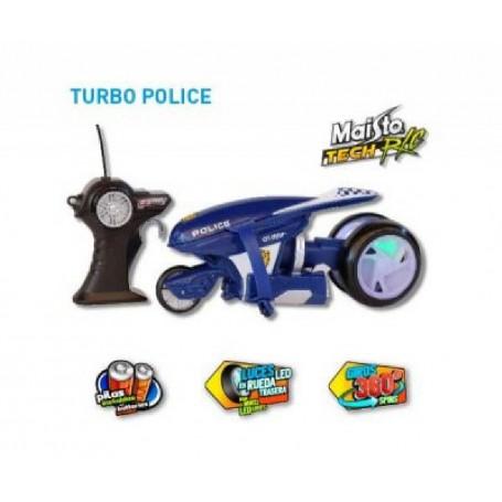 MAISTO TECH - MOTO DE POLICÍA CON RADIO CONTROL