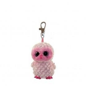 CLIP TWIGGY - BUHO ROSA OWL - TY BEANIE BOOS