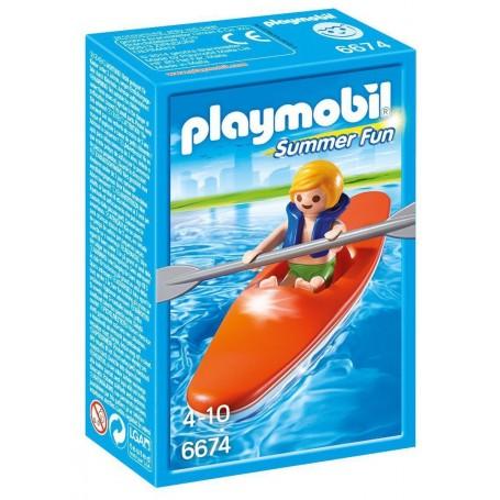 NIÑO CON KAYAK PLAYMOBIL 6674