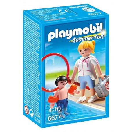 VIGILANTE PLAYMOBIL 6677