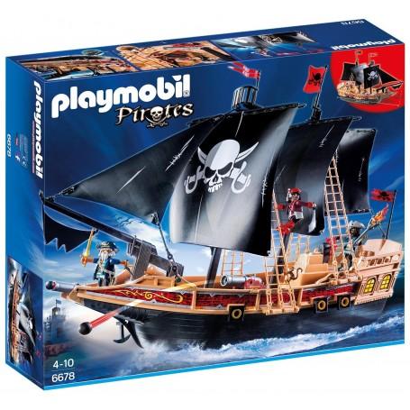 BUQUE CORSARIO PLAYMOBIL 6678