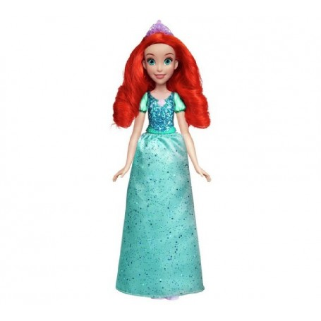 MUÑECA PRINCESA ARIEL BRILLO REAL - DISNEY