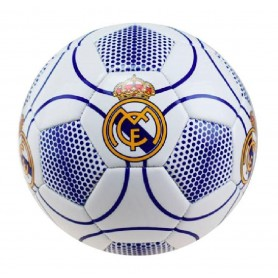 REAL MADRID BALON N3 MEDIANO BLANCO-AZUL TALLA 2