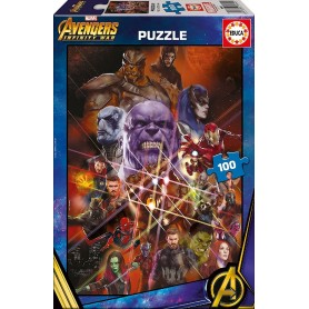 PUZZLE 100 AVENGERS INFINITY WAR