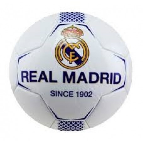REAL MADRID BALON N1 MEDIANO BLANCO-AZUL TALLA 0