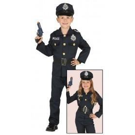 DISFRAZ POLICIA INFANTIL 5-6 AÑOS