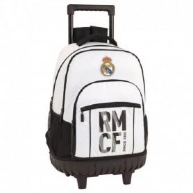 MOCHILA GRANDE REAL MADRID C/RUEDAS COMPACT 2018/2019