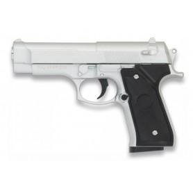 PISTOLA AIRSOFT GALAXY G22 SILVER (de juguete)