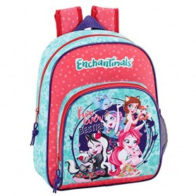 MOCHILA ENCHANTIMALS FUR EVER ADAPTABLE 34CM