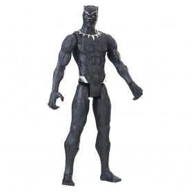 FIGURA BLACK PANTHER AVENGERS MARVEL TITAN HERO SERIES 30 CM