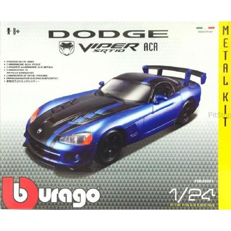 BBURAGO MAQUETA KIT 1:24 DODGE VIPER SRT 10