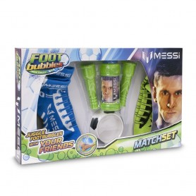 FOOT BUBBLES - PACK CON PARTIDO MESSI