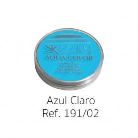 MAQUILLAJE AL AGUA AZUL CLARO PROFESIONAL 15G