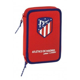 PLUMIER ATLETICO MADRID CORAJE DOBLE 34PCS