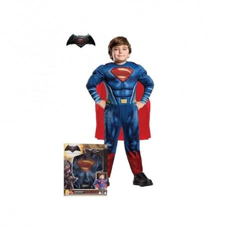 DISFRAZ SUPERMAN EN CAJA LUXE 3-4 AÑOS