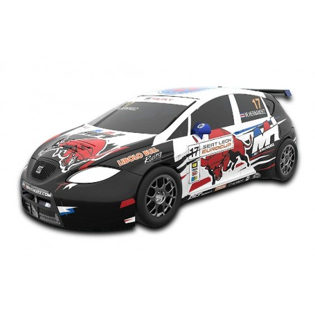SCALEXTRIC COMPACT COCHE SEAT LEON EUROCUP MAU
