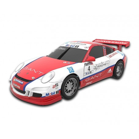 SCALEXTRIC COMPACT COCHE PORSCHE 911 GT3 OLSEN