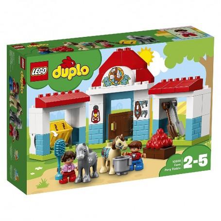 ESTABLO DE LOS PONIS LEGO DUPLO Town 10868