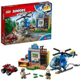 PERSECUCIÓN POLICIAL EN LA MONTAÑA LEGO Juniors 10751