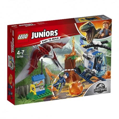 LEGO JUNIORS - HUIDA DEL PTERANODON 10756