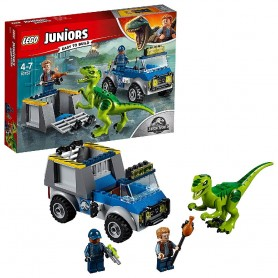 CAMIÓN DE RESCATE DEL RAPTOR LEGO JUNIORS 10757