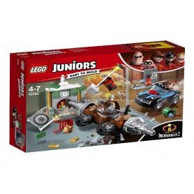 INCREDIBLES 2 - ATRACO AL BANCO DEL SOCAVADOR LEGO JUNIORS 10760