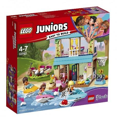 CASA DEL LAGO DE STEPHANIE LEGO JUNIORS 10763