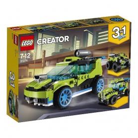 COCHE DE RALLY A REACCIÓN LEGO LEGO Creator 31074